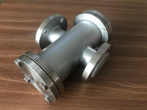 PFA Lined Stainless Steel Flanged Y Type Strainer
