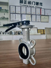 Stainless Steel 304/316 Disc Butterfly Valve