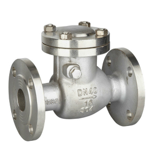 Stainless Steel H14W Swing Check Valve Flanged End