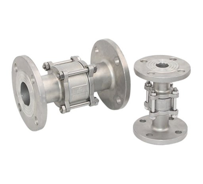3PC Stainless Steel Flange Vertical Check Valve