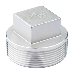 Stainless Steel Square Plug
