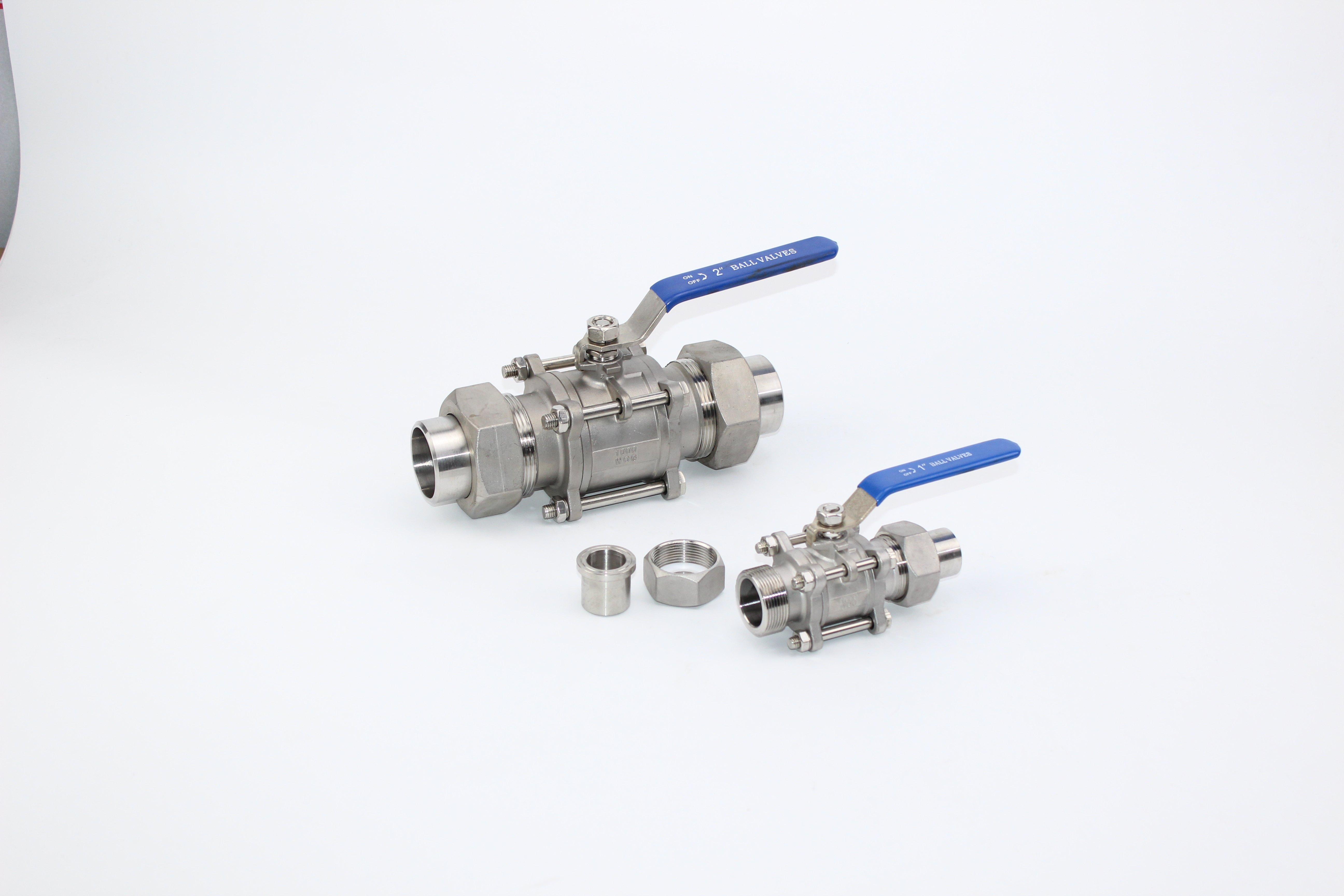 3PC Stainless Steel Thread Ball Valve With Union