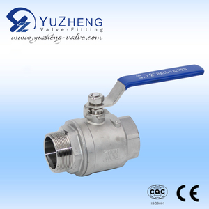 2PC Stainless Steel Ball Valve(MF)