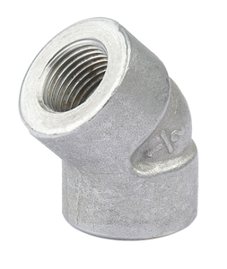 Stainless Steel 3000PSI High Pressure 45 Degree Elbow