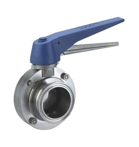 Sanitary Fast Install Butterfly Valve