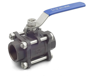 3PC Carbon Steel Ball Valve