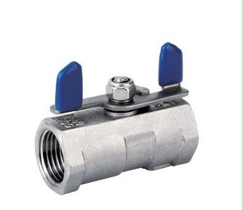 1PC Stainless Steel Ball Valve With Wing Handle