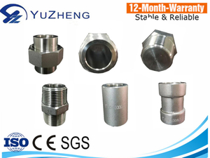 304/316 L High Pressure 6000LB Stainless Steel Hexagon Nipple Pipe Fittings