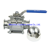 Stainless Steel DN15-DN80 3pc Ball Valve Manufacture of China